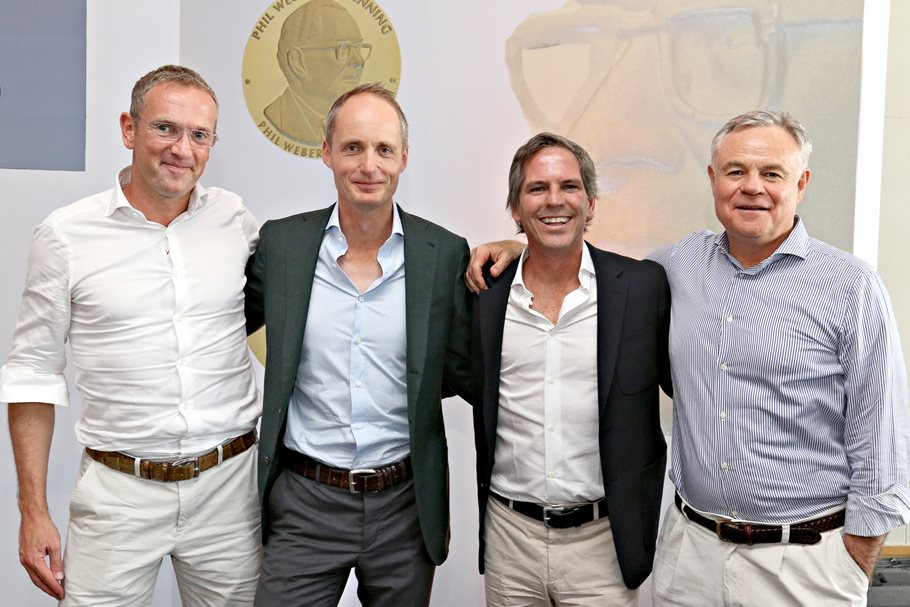 Naspers Chairman awards top prizes